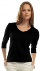 Promotional products: Ladies scoop neck t