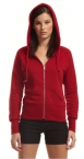 Promotional products: Bamboo ladies full zip hoody