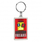 Promotional products: Rectangle crystal keytag