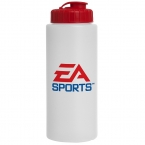 Promotional 32 Oz Sport Bottle (flip Top Lid)