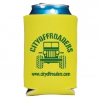 Promotional products: Folding foam can cooler 2 side imprint
