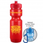 Promotional products: 22oz Bike Bottle (Push Pull Lid)