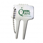 Promotional products: Steel divot tool with chain