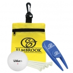 Promotional products: Golf in a Bag Gift Set