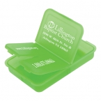 Promotional products: Slotted pill box