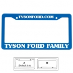 Promotional products: License plate frame