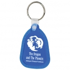 Promotional products: Teardrop soft keytag
