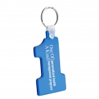 Promotional products: Number one soft keytag