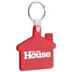 Promotional products: House soft keytag
