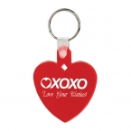 Promotional products: Heart soft keytag