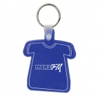 Promotional products: T shirt soft keytag