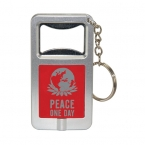 Promotional products: Bottle opener and led light