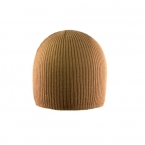 Promotional products: Under helmet cardigan acrylic beanie with 1x1 rib bottom