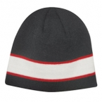 Promotional products: Sandwich stripe beanie