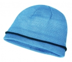 Promotional products: Acrylic knit toque/color accent stripe