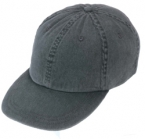 Promotional products: Garment washed pigment dyed cotton twill cap with cloth strap
