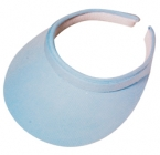 Promotional products: Cotton twill clip-on visor