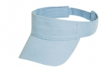 Promotional products: Cotton twill garment washed visor