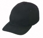 Promotional products: Brushed cotton cap, one piece front panel