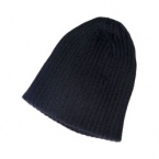 Promotional products: Cotton drop needle knit toque