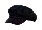 Promotional products: Cotton knit terry loop newsboy cap