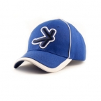 Promotional products: Two tone wool serge value cap