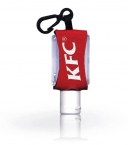 Promotional products: 1/2 oz Instant Hand Sanitizer on a Leash