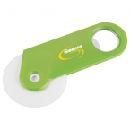 Promotional products: Happy Nest Bottle Opener Pizza Cutter