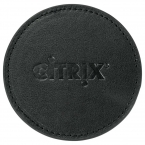 Promotional products: Premier Leather Coaster Set