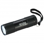 Promotional products: Gripper 9 LED Flashlight