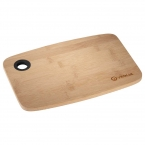 Promotional products: Bamboo Cutting Board with Silicone Grip