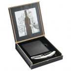 Promotional products: Belgio Coasters and Wine Opener Set