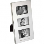 Promotional products: Radiance Silver Plated Family Photo Frame
