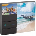 Promotional products: Black Acrylic Double Frame
