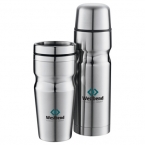 Promotional products: Deco Band Insulated Bottle & Tumbler Gift Set 18oz