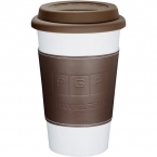 Promotional products: Double-Wall Ceramic Tumbler with Wrap11oz