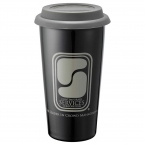 Promotional products: Mega Double-Wall Ceramic Tumbler 15oz