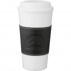 Promotional products: Mega Double-Wall Plastic Tumbler with Wrap 16oz