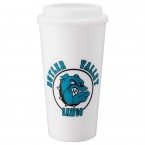 Promotional products: Mega Double-Wall Plastic Tumbler 16oz