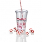 Promotional products: Sedici Peppermint Tumbler 16oz
