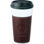 Promotional products: Hampton Ceramic Tumbler with Hard Lid 16oz