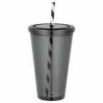 Promotional products: Sedici Striped Straw