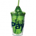 Promotional products: CLEARANCE:Cool Gear® Vortex Wave Tumbler 16oz