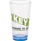 Promotional products: CLEARANCE:Game Day Plastic Pint Glass 16oz