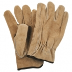 Promotional products: Safety Works Split Cow Leather Drivers Gloves