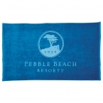 Promotional products: 15 lb./doz. Colored Beach Towel