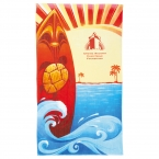 Promotional products: 14 lb./doz. Surf Board Beach Towel