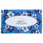 Promotional products: 12lb./doz. Hibiscus Pattern Beach Towel