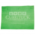 Promotional products: Colored Oversized Beach Towel