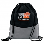 Promotional products: PolyPro Non-Woven Drawstring Sportspack